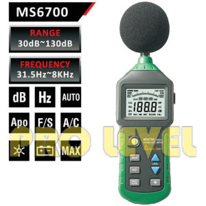 Professional Digital Sound Level Meter (MS6700) pictures & photos