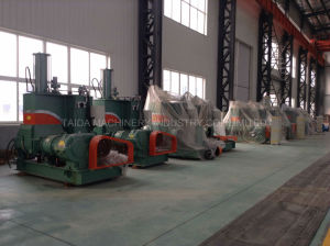 X (S) N-10, 20, 35, 55, 75, 110 Liters Rubber Compounding High Quality Pressurized Dispersion Kneader Mixing Machine pictures & photos