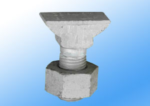 Hs32 T Clip Bolt for Railway Line Construction