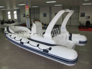 19feet 5.8m Cheap China Rib Boat, Outboard Boat Inflatable Rigid Boat pictures & photos