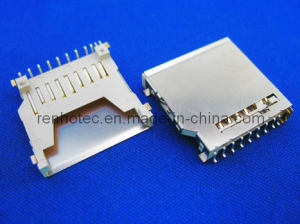 MMC Card Connector, Memory Card Connector Socket (RH-SDC-MMC) pictures & photos