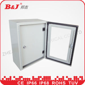 IP66 Electrical Metal Enclosure Box with Glass Window pictures & photos