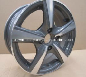 Aluminum Wheel with High Sliver for Russia Market pictures & photos