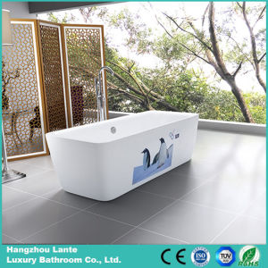 2016 New Design Printed Acrylic Freestanding Bath Tub (LT-3E) pictures & photos