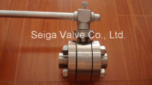 API High Temperature and High Pressure Forged Steel Ball Valve