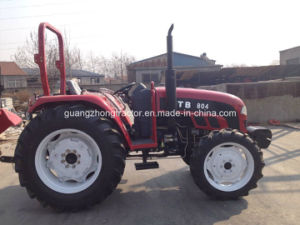 Weifang Farm Tractor Agricultural Tractor 704 804 with Foton Cabin Yto Engine pictures & photos