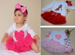 China 2015 Wholesale Baby Clothes Feikebella New Style Baby Skirt