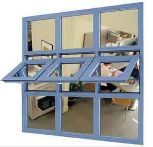 Aluminium Wide Window with Awning Window in The Middle pictures & photos