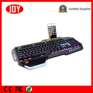 Professional Mechanical Keyboard Wired USB Cable with Hand Holder pictures & photos