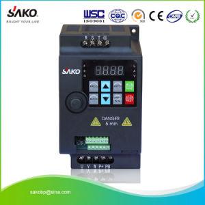 Sako 230V or 380V 0 75kw 1HP Mini VFD Variable Frequency Drive Inverter for  Motor Speed Control