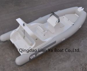Liya 6.2m Passenger Motor Boat Hypalon Rib Boat Sale pictures & photos