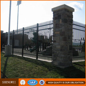 Galvanized Steel Security Garden Pipe Fence pictures & photos