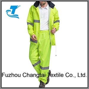 China Hooded Reflective Safety Rain Jacket and Trousers - China Rain ... 9a05b93fa80