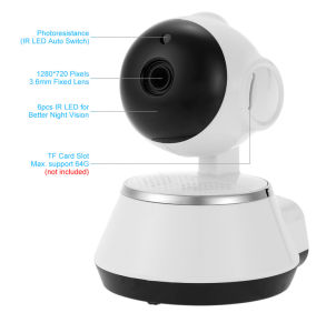 Smart PT IP Camera For Baby Monitor And Video Surveillance