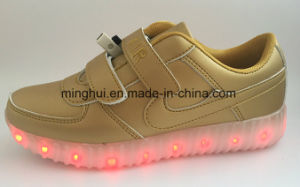 Women Kids USB Charging Light LED Shoes with Many Changeable Color Footwear