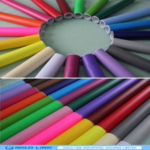 Adhesive PVC Sticker with Color