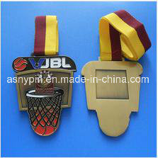 Metal Vintage Gold Basketball Medals Custom pictures & photos