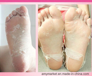 Afy Lushy Foot Mask High Effective to Remove Callus Dead Skin Cutin Foot Odour Foot Care Mask Whitening Foot Mask pictures & photos