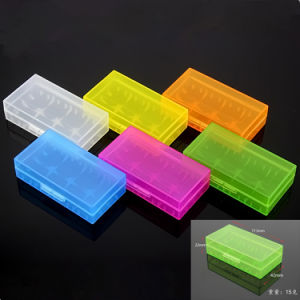 Fit for 4 PCS 18650 Plastic Battery Storage Box Case pictures & photos