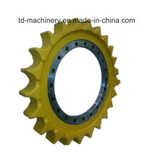 Drive Wheel Sprocket for Excavator Construstion Machinery Parts Ex200-2 Hitachi Font Excavator