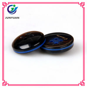 Resin Round Shirt Button Fashion Accessories 4holes pictures & photos