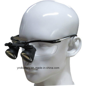 Portable LED Headlight Dental Dental Binocular Loupes