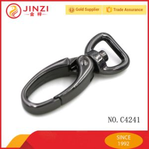 Factory Wholesale Black Color Metal Spring Hook for Bags pictures & photos