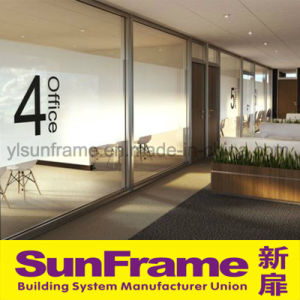 Office Glass Partitions with Aluminum Frame pictures & photos