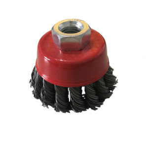 Twist Knot Steel Wire Wheel Brush pictures & photos