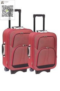 600d Twotone Fabric EVA Suitcase pictures & photos