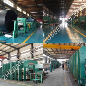 Mine, Stone, Sand Cement Fabric Nylon Nn Ep Cc56 Tc70 Steel Cord Black Rubber Conveyor Belt pictures & photos