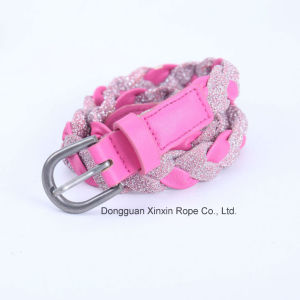 Women Girl Fashion PU Leather Knitting Belt for Dressing Docor pictures & photos