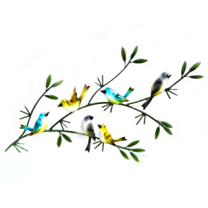 Beautiful Handicraft Metal Bird Garden Wall Decoration