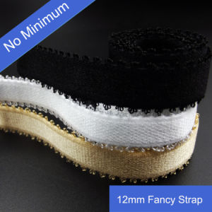 Good Quality 12mm Elastic Webbing for Bra pictures & photos
