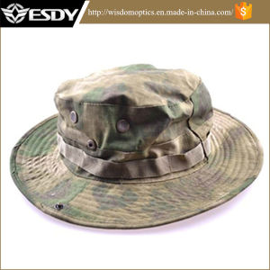 Military Camo Fisherman Hat with Wide Brim Sun Camping Hunting Hat pictures & photos