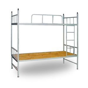 China Cheap And Practical Simple Design Steel Dorm Bed For Students