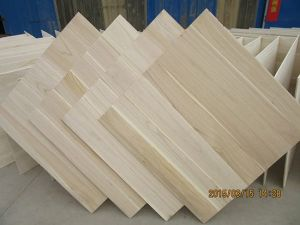 Paulownia Edge Glued Panels Paulownia Coffin Board Paulownia Furniture Board