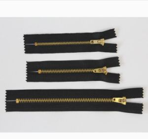 Custom Factory High Quality Closed End Metal Zipper pictures & photos