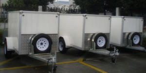Enclosed Cargo Trailer (GW-BLV 7) pictures & photos