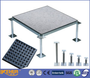 HPL or PVC Steel Cementious Raised Floor