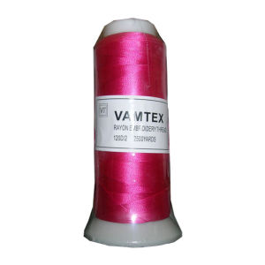 120d/2 100% Rayon Embroidery Thread pictures & photos
