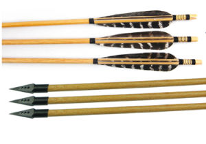 Wooden Archery Arrows for Traditional Bow