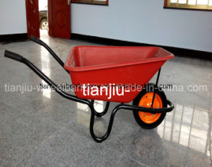 South Africa Market Plastic Tray Wheelbarrow (Wb3800) pictures & photos