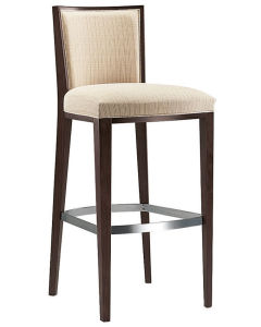 Coffee Bar Chair with Metal Footrest Xyh1042