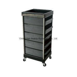 Black Color Salon Trolley or Hairdressing Cart (HQ-A903)