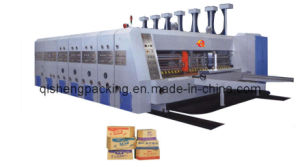 Automatic Carton Printing Slotting and Die Cutting Machine (GYMK-900*2000) pictures & photos