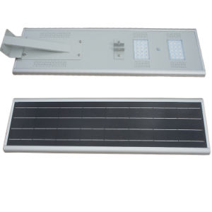Wireless 30W Integrated LED Solar Street Light with Outdoor CCTV Camera
