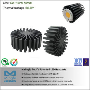 57W LED Cooler for All Branded LEDs (Dia130xH50mm)