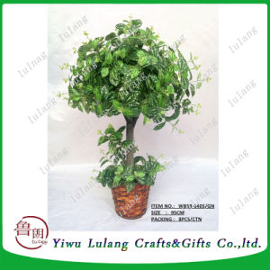 China Professional Artificial Bonsai Plant Factory Types Of