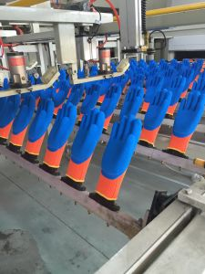 glove production line